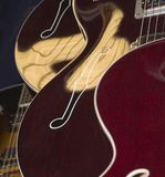 gitara ciała zdjęcie stock