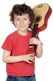 gitara dziecka fotografia stock