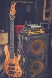 Gitara elektryczna amplifikator fotografia royalty free