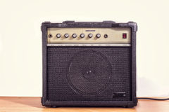 Gitara elektryczna amplifikator Obraz Stock