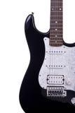 gitara elektryczna częściowy widok Obraz Stock