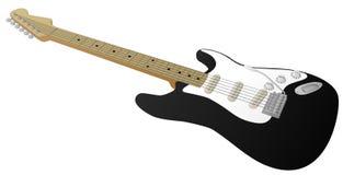 Gitara Elektryczna (Czerń) Obrazy Stock