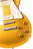 Gitara elektryczna instrument fotografia stock