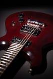 Gitara elektryczna mahoń Zdjęcia Stock