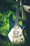 gitara elektryczna nowożytna Obrazy Royalty Free