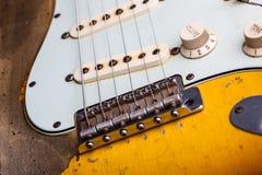 gitara elektryczna roczne Zdjęcie Royalty Free