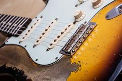 gitara elektryczna roczne Obraz Stock