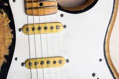 gitara elektryczna roczne Fotografia Royalty Free