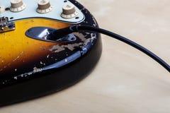 gitara elektryczna roczne Obrazy Stock