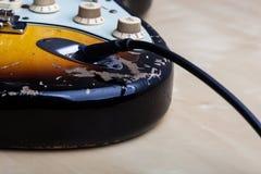 gitara elektryczna roczne Obrazy Royalty Free