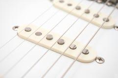 gitara elektryczna sznurki obrazy stock