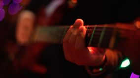 gitara elektryczna zapas r r E Czarny tło Fotografia Stock