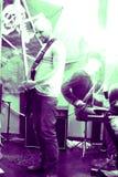 gitara gracz Zdjęcia Stock