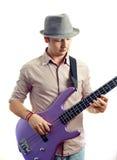 Gitara gracz Fotografia Stock