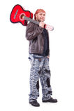 Gitara gracz Obrazy Royalty Free