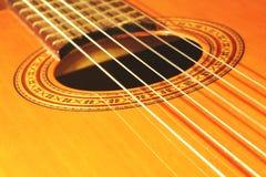 gitara hiszpańska Obraz Royalty Free