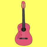 Gitara ilustracja Zdjęcie Stock