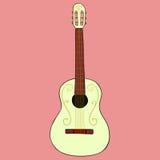 Gitara ilustracja Obrazy Stock