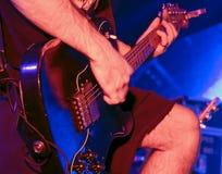 gitara lider Zdjęcie Stock