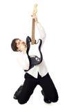 gitara ludzi Obrazy Stock