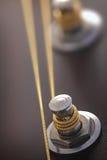 Gitara mechanizm przystosowywać sznurki zdjęcia stock