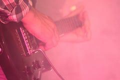 Gitara - Muzyka rockowa Zdjęcie Royalty Free