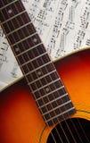 gitara muzyki Zdjęcie Royalty Free