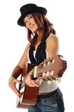 gitara nastoletnia Zdjęcia Royalty Free