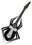 gitara pająk ilustracja wektor