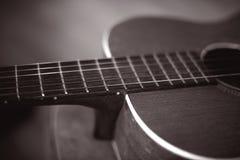 gitara retro Obrazy Royalty Free
