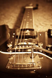 gitara stara Fotografia Royalty Free