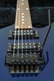 Gitara szczegół Zdjęcia Stock
