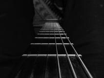 Gitara sznurek zdjęcie stock