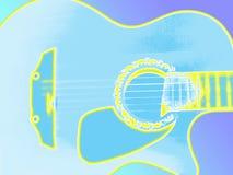 gitara wzrok Zdjęcia Stock