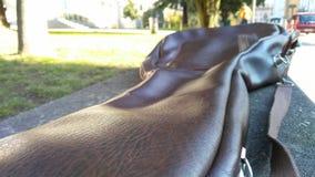 Gitara & x27; s skrzynka outside Obraz Royalty Free