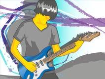 Gitarist Royalty Free Stock Image