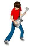 Gitarist royalty-vrije illustratie