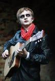 Gitarist Royalty-vrije Stock Foto