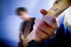 Gitarist stock afbeeldingen
