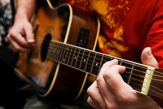Gitarist Royalty-vrije Stock Afbeeldingen