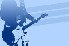 Gitarist vector illustratie