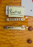 gitarrövning Arkivfoton
