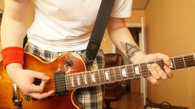 gitarr Royaltyfria Bilder