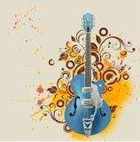 gitarr vektor illustrationer