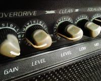 Gitarr ampere Arkivfoton
