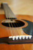 gitarr för close 3 upp Arkivbilder
