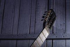 Gitarr Fretboard Arkivbilder