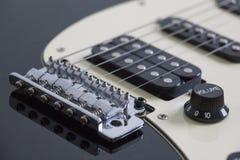Gitarrbro, uppsamlingar och rader royaltyfri bild