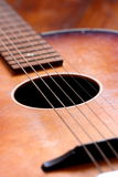 Gitarre A Lizenzfreie Stockfotos