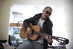 Gitarre lizenzfreie stockfotos